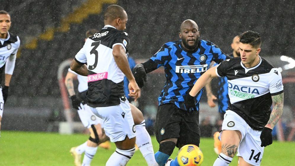 Inter Mailand nutzt Ausrutscher von Lokalrivalen nicht - Bildquelle: AFPSIDVINCENZO PINTO
