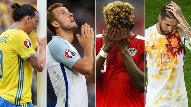 UEFA Euro: Die Flop-Elf - Bildquelle: Getty