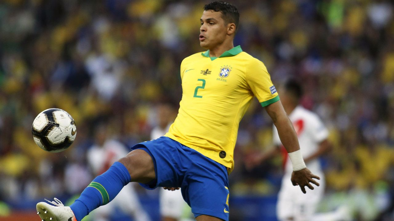 Abwehr - Thiago Silva (Brasilien) - Bildquelle: imago images / Photosport