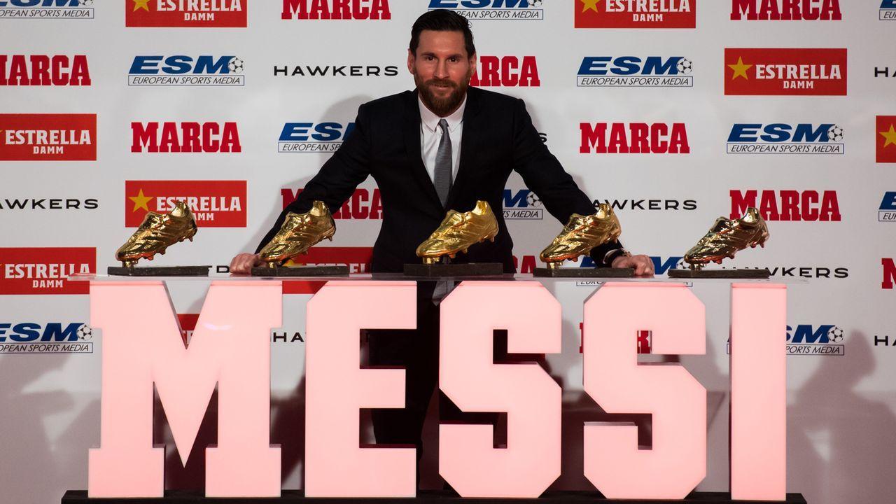 Spanien: Lionel Messi - 21 Spiele - Bildquelle: 2018 Getty Images