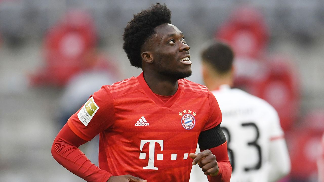 FC Bayern: Alphonso Davies - Bildquelle: Getty Images