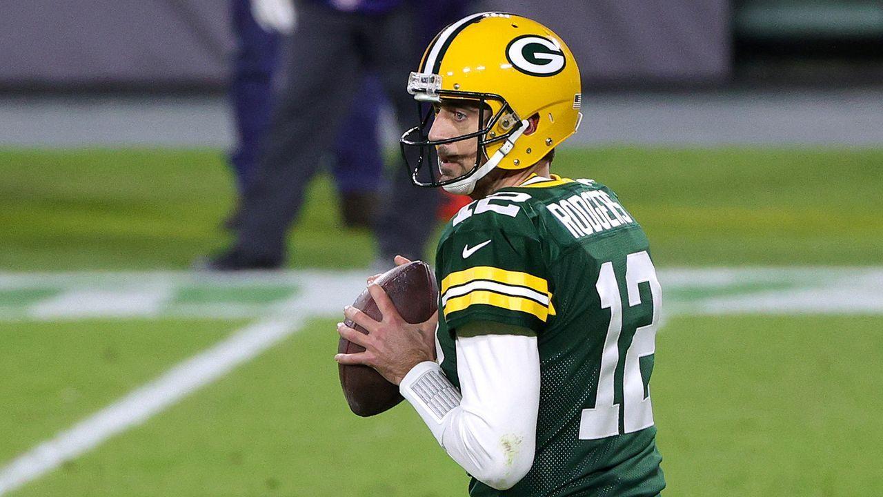 Aaron Rodgers (Green Bay Packers) - Bildquelle: Getty