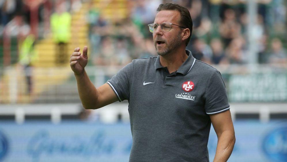 Sascha Hildmann ist offenbar nicht mehr Trainer beim FCK - Bildquelle: firo Sportphotofiro SportphotoSIDfiro Sportphoto Jan Fromme