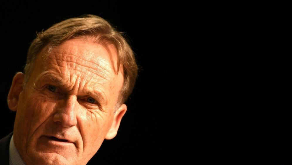 Sieht den BVB als Herausforderer: Hans-Joachim Watzke - Bildquelle: AFPSIDPATRIK STOLLARZ