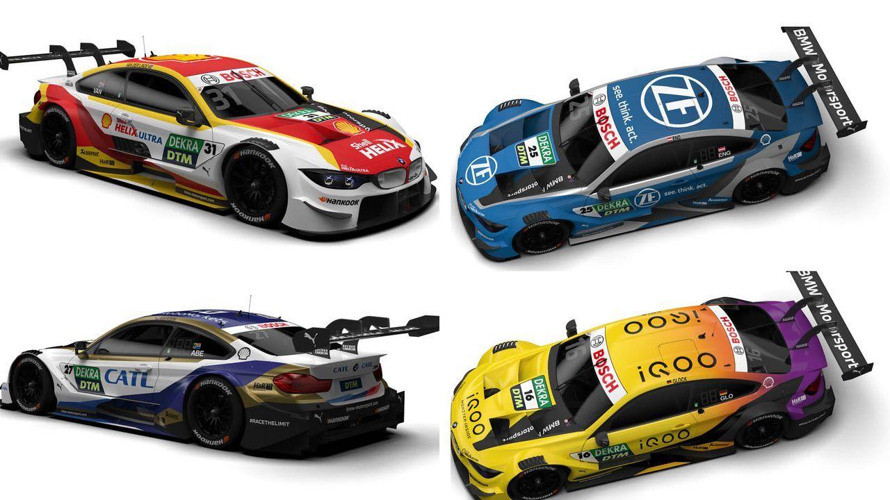 Das sind die BMW-Boliden für die Saison 2020 - Bildquelle: BMW