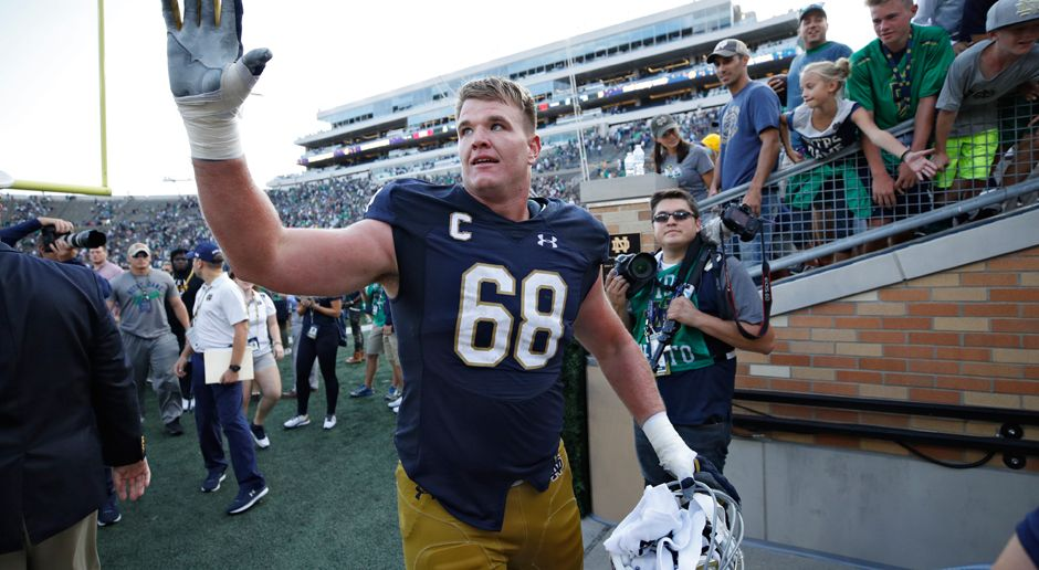 9. Pick - San Francisco 49ers: OT Mike McGlinchey  - Bildquelle: getty