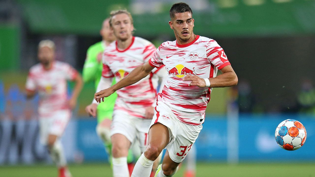 Platz 8: Andre Silva (RB Leipzig - Bildquelle: imago images/MIS