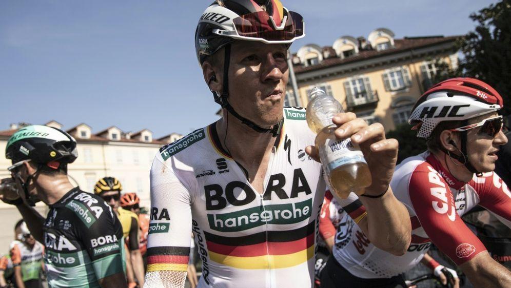 Ackermann gewann die erste Etappe der Deutschland-Tour - Bildquelle: AFPSIDMARCO BERTORELLO