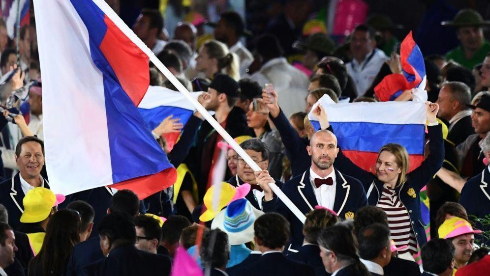 In den kommenden vier Jahren nicht bei Olympia: Russland - Bildquelle: AFPSIDFRANCK FIFE