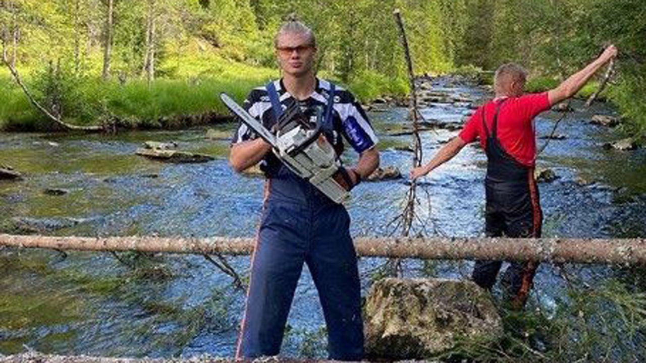 So ticken die Torjäger privat: Erling Haaland - Bildquelle: https://www.instagram.com/erling.haaland