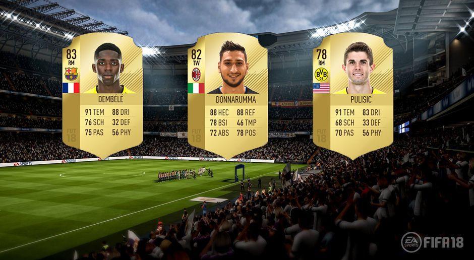 Top 10: Die besten U20-Spieler in FIFA 18 - Bildquelle: EA Sports