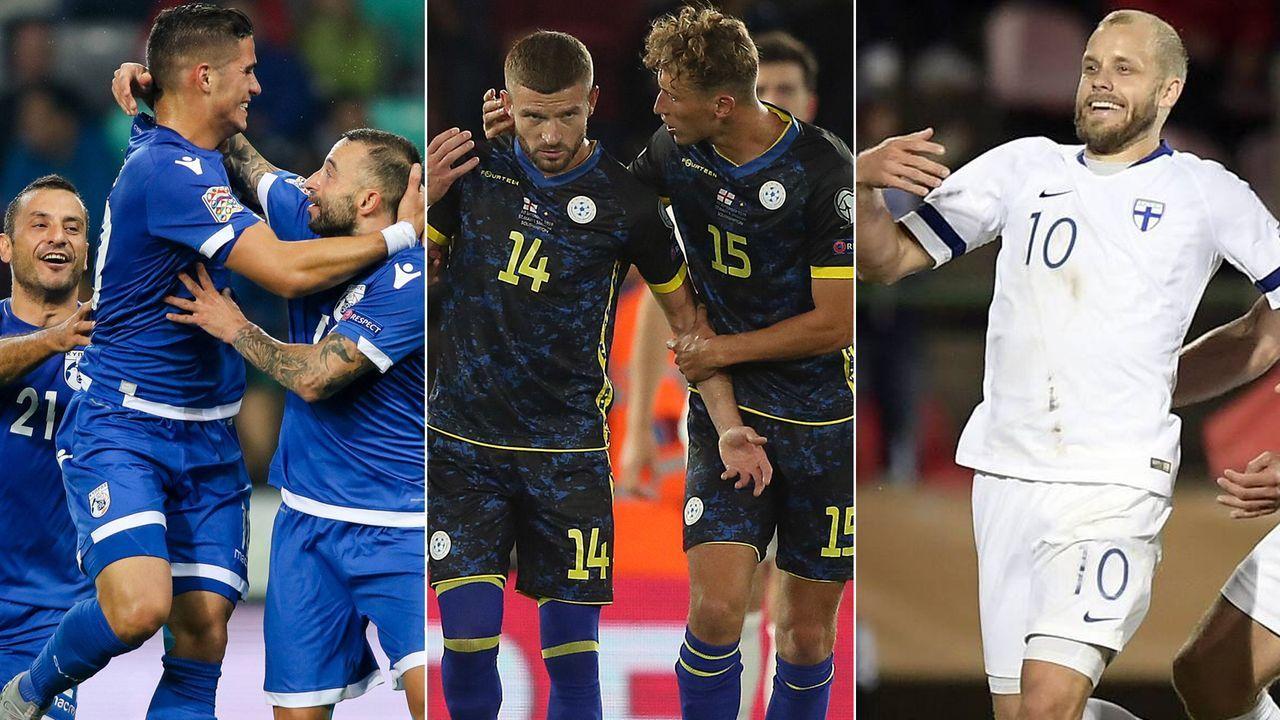 Diese Underdogs könnten sich für die EM 2020 qualifizieren - Bildquelle: Imago