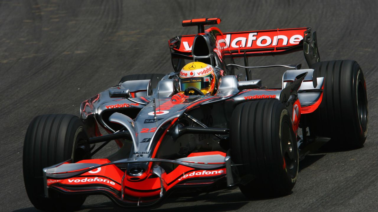 Mc Laren Mercedes (2008)   - Bildquelle: 2008 Getty Images