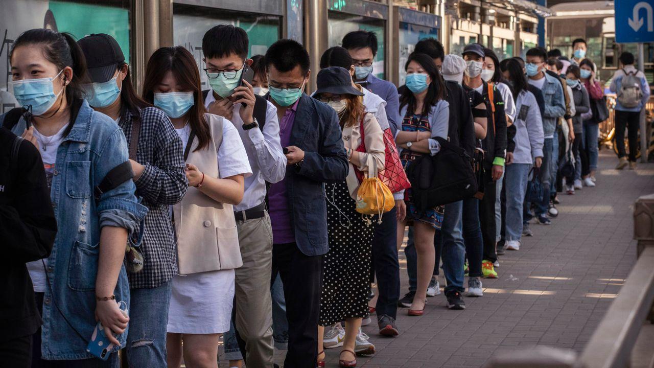 In China gab es offiziell 62 Coronafälle - Bildquelle: 2020 Getty Images