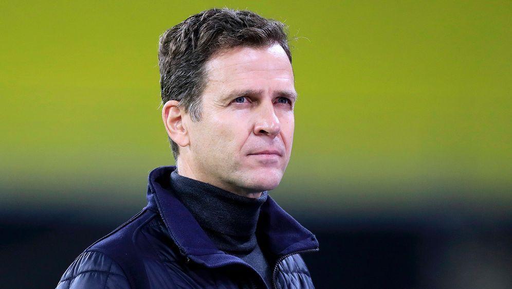 DFB-Direktor Oliver Bierhoff hat in einer Pressekonferenz die Entwicklungen ... - Bildquelle: Imago