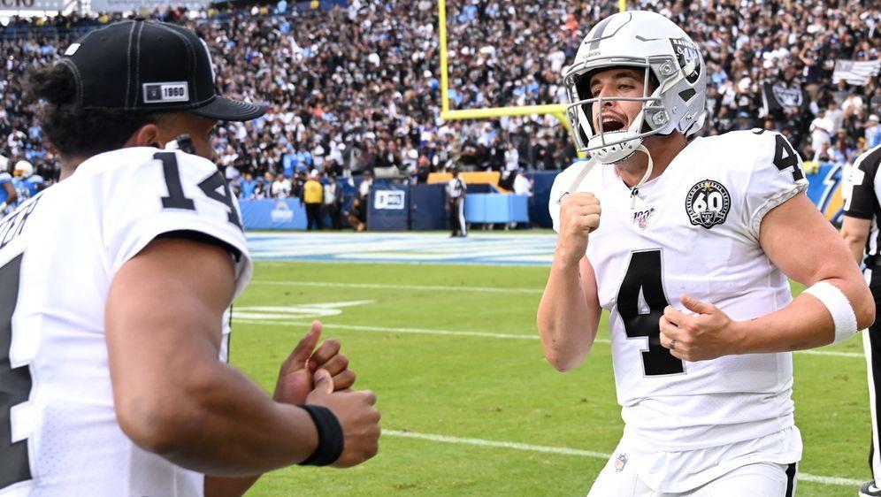 Schaffen die Raiders die Sensation? - Bildquelle: 2019 Getty Images