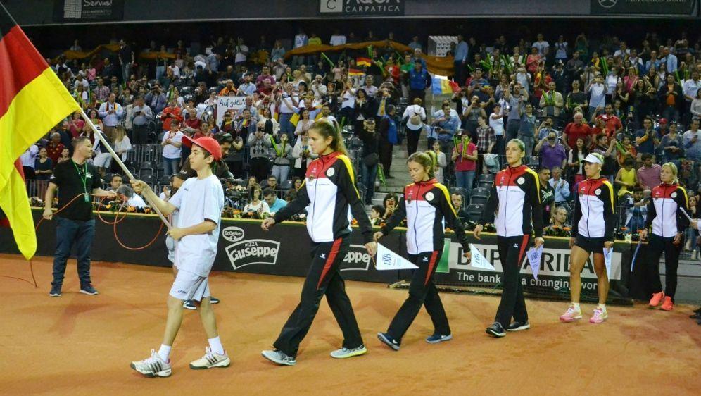 Das deutsche Fed-Cup Team trifft auf die Ukraine - Bildquelle: PIXATHLONPIXATHLONSID