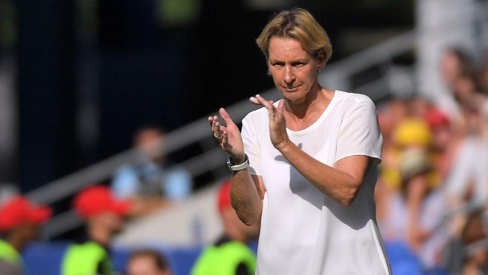 Voss-Tecklenburg ist seit November 2018 DFB-Trainerin - Bildquelle: AFPSIDLOIC VENANCE