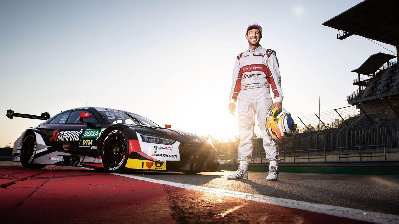 Mike Rockenfeller (Audi) - Bildquelle: Audi