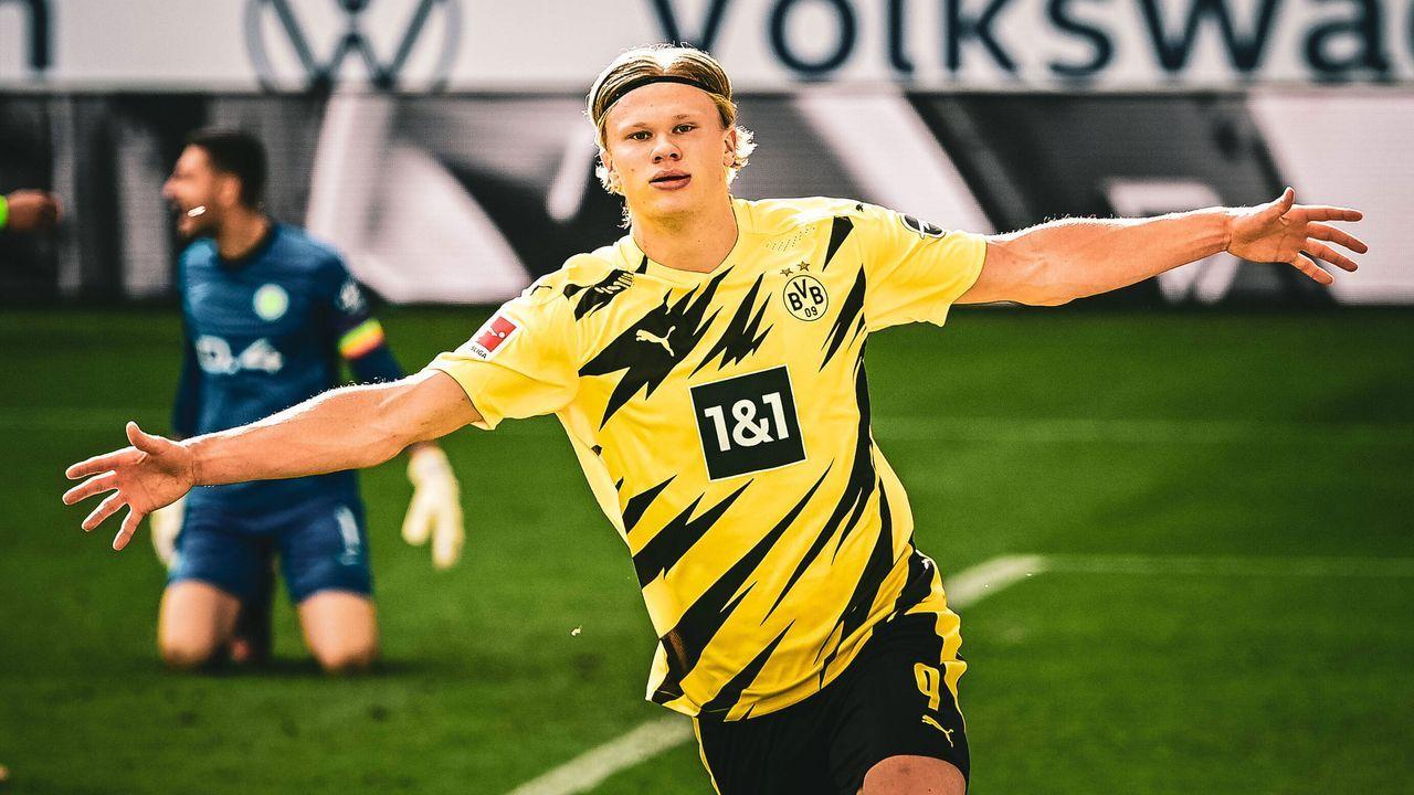 Erling Haaland (Borussia Dortmund) - Bildquelle: imago images/ZUMA Wire
