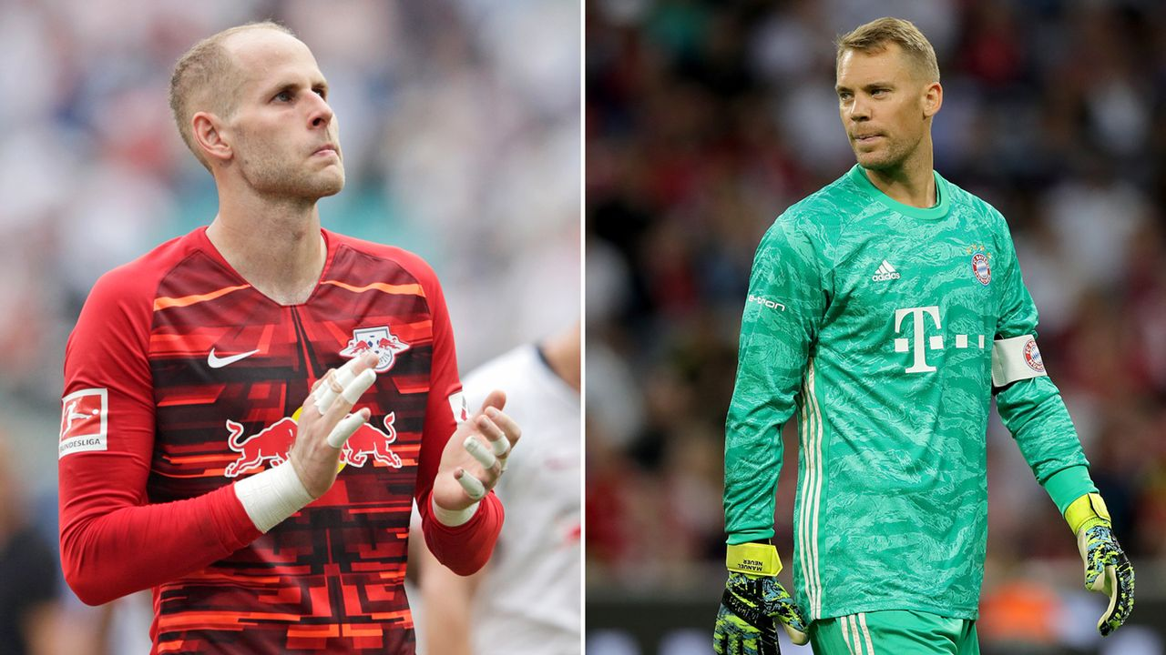Peter Gulacsi vs. Manuel Neuer  - Bildquelle: 2019 Getty images