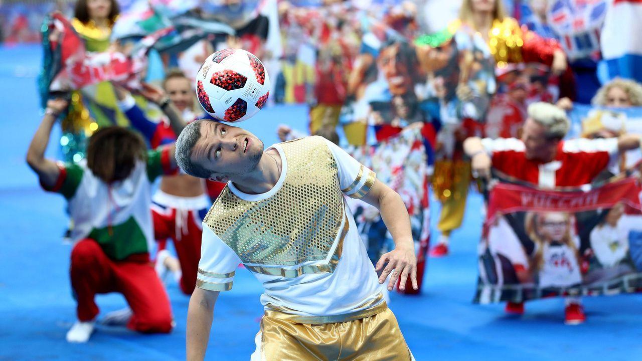 Eine Show mit Ball - Bildquelle: imago/PA Images