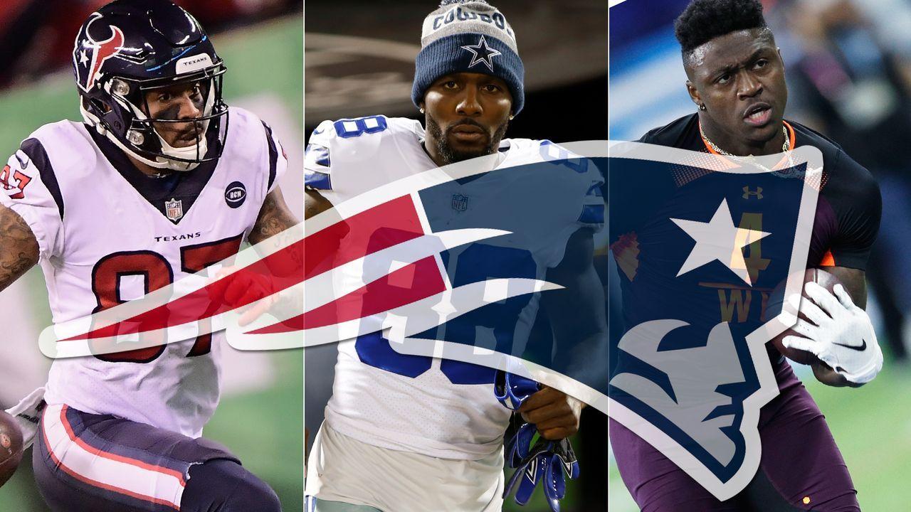 Diese Passempfänger sind mögliche Kandidaten für die New England Patriots - Bildquelle: Getty Images