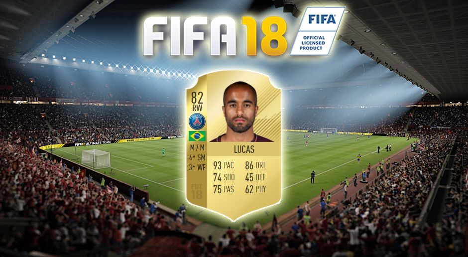 Platz 15: Lucas Moura (Paris Saint-Germain) - Bildquelle: EA Sports