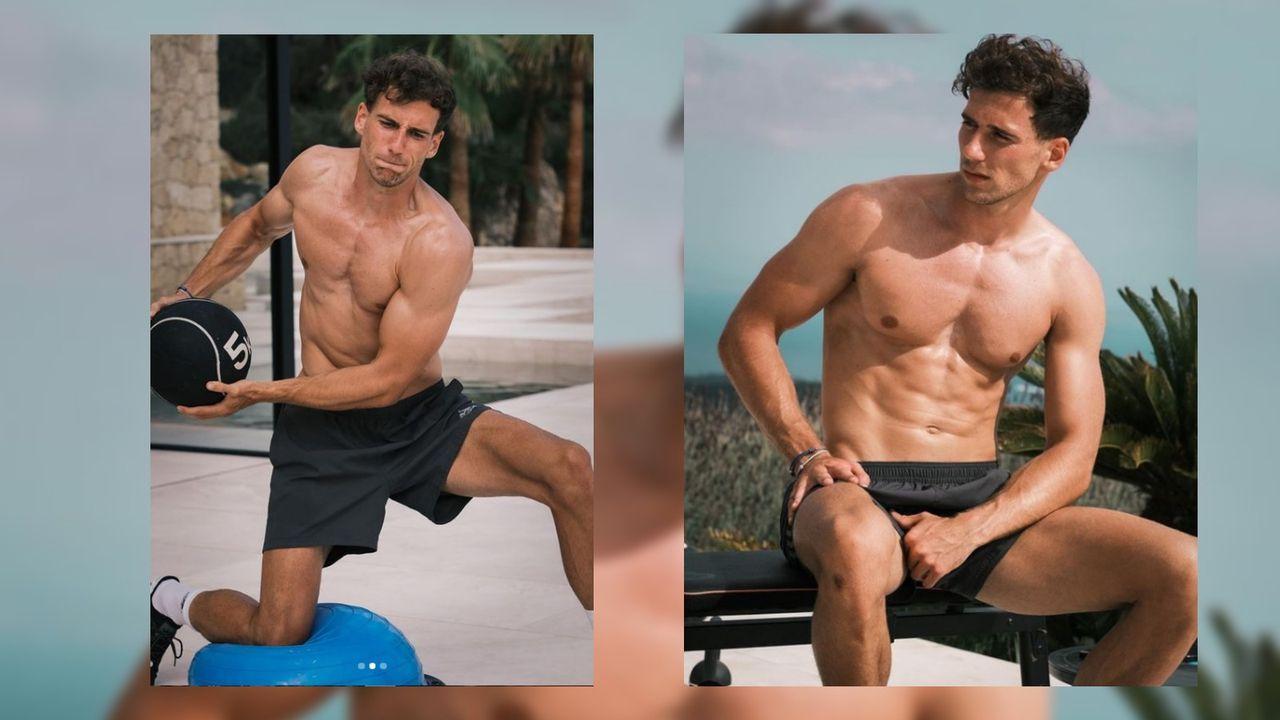 Diese Muskeln machen selbst Ronaldo neidisch - Bildquelle: instagram.com/leon_goretzka/