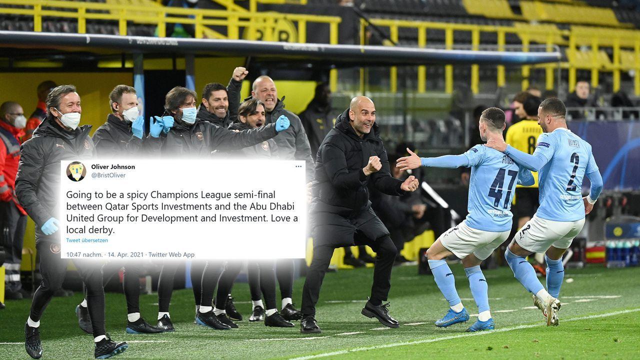Nachbarschaftsduell in der Champions League - Bildquelle: imago images/Ulrich Hufnagel