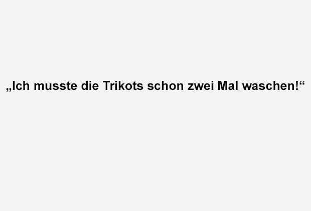 Trikots Waschen - Bildquelle: ran.de