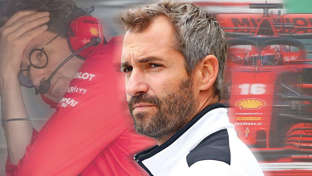 Ferrari im Fadenkreuz der Formel 1 - im ran-Interview äußert sich Timo Glock... - Bildquelle: Getty / Imago