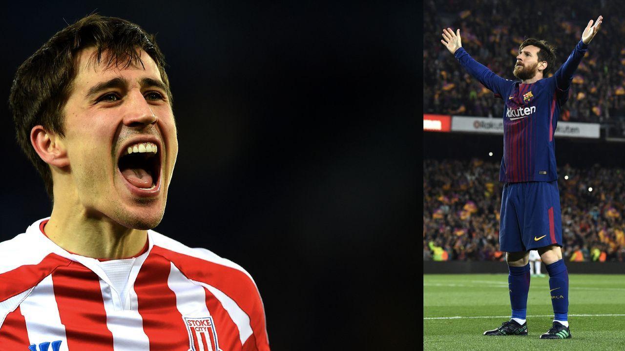 Lionel Messi und Bojan Krkic - Bildquelle: Getty