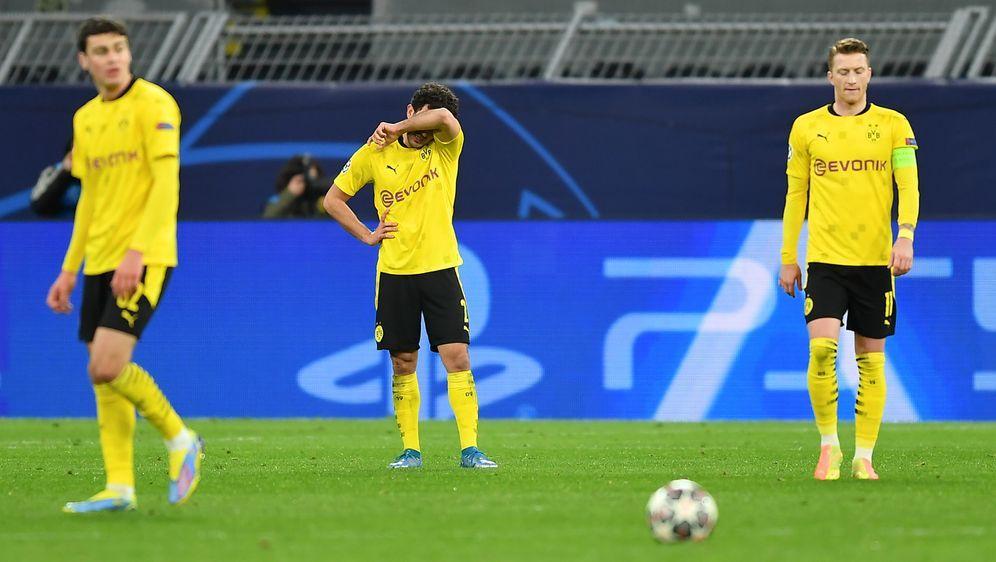 Der BVB scheitert gegen Manchester City im Viertelfinale - Bildquelle: POOLPOOLAFPIna Fassbender