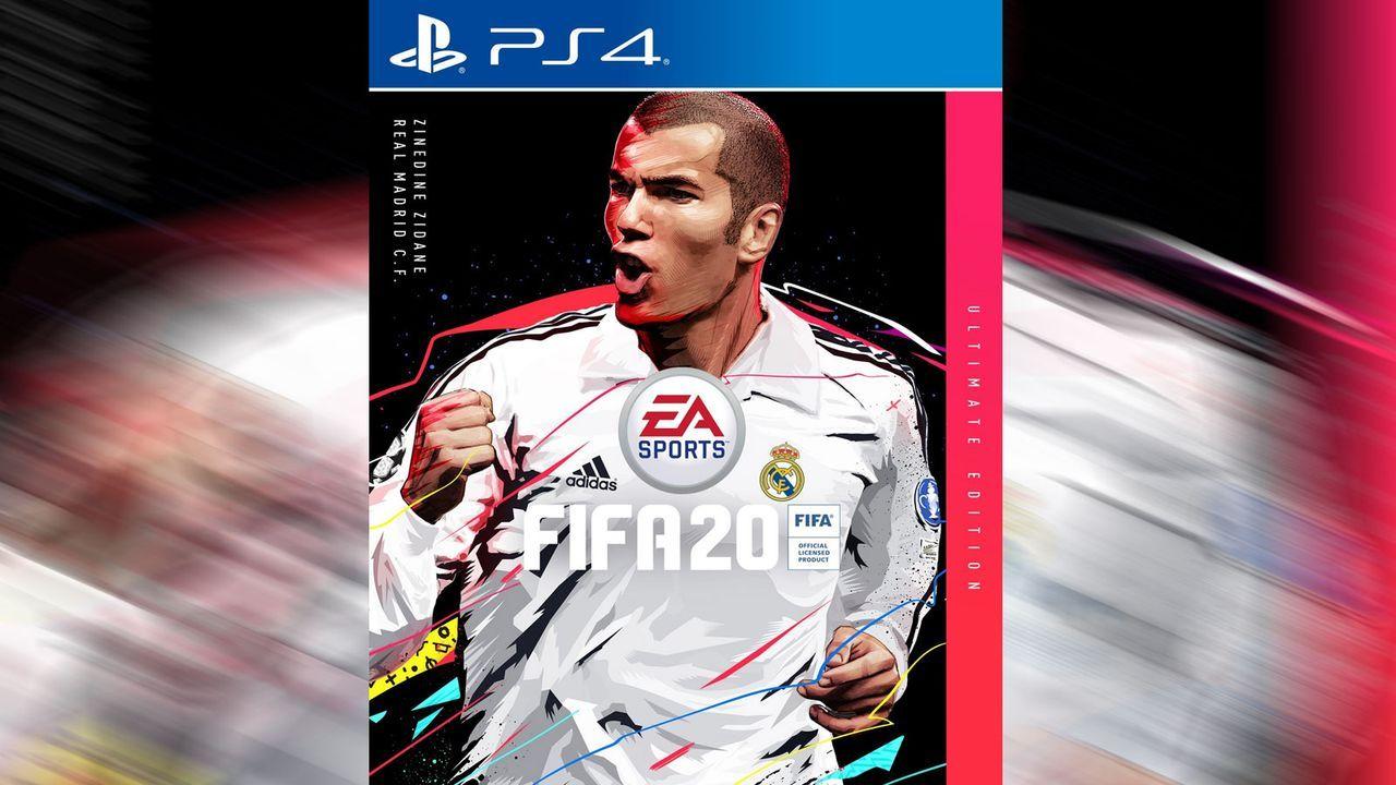 FIFA 20: Cover-Star Zinedine Zidane  - Bildquelle: EA Sports