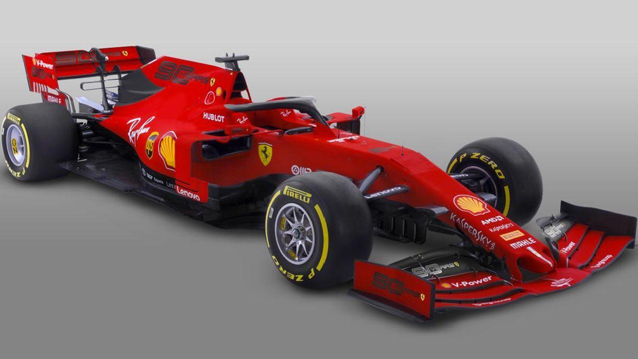 Formel 1 2019: Ferrari mit Sonderdesign zum Saisonauftakt - Bildquelle: Ferrari