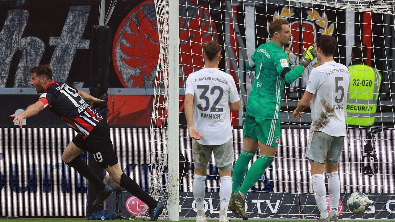 Die Spieler von Eintracht und Bayern in der Einzelkritik - Bildquelle: Imago