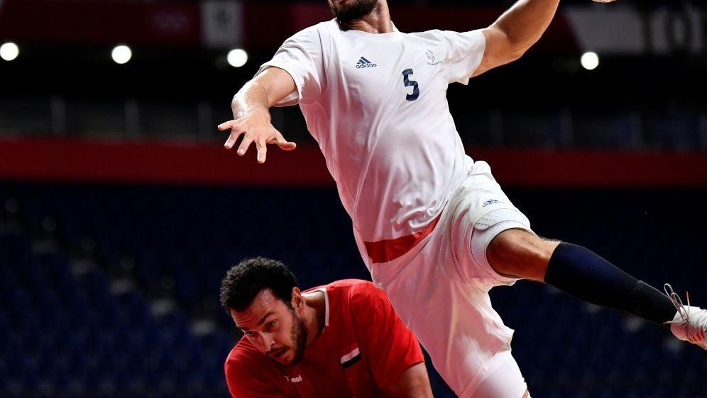 Rekordweltmeister Frankreich schlägt Ägypten - Bildquelle: AFPSIDFabrice COFFRINI