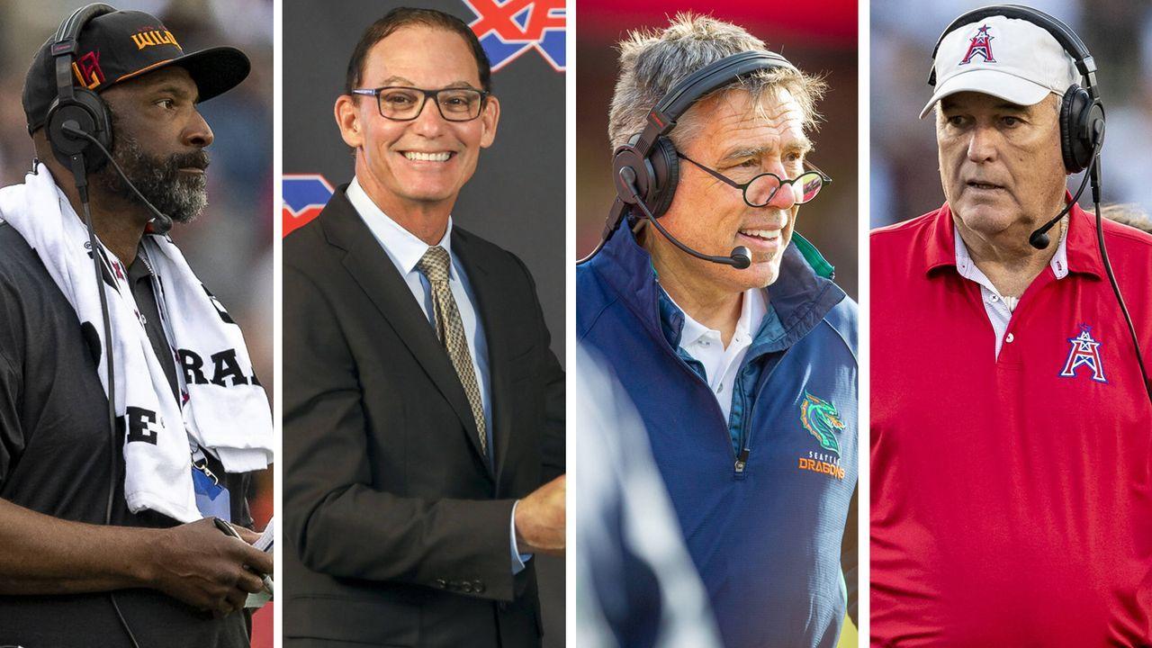Vier waren Head Coach in der NFL: Das sind die Cheftrainer der XFL - Bildquelle: imago