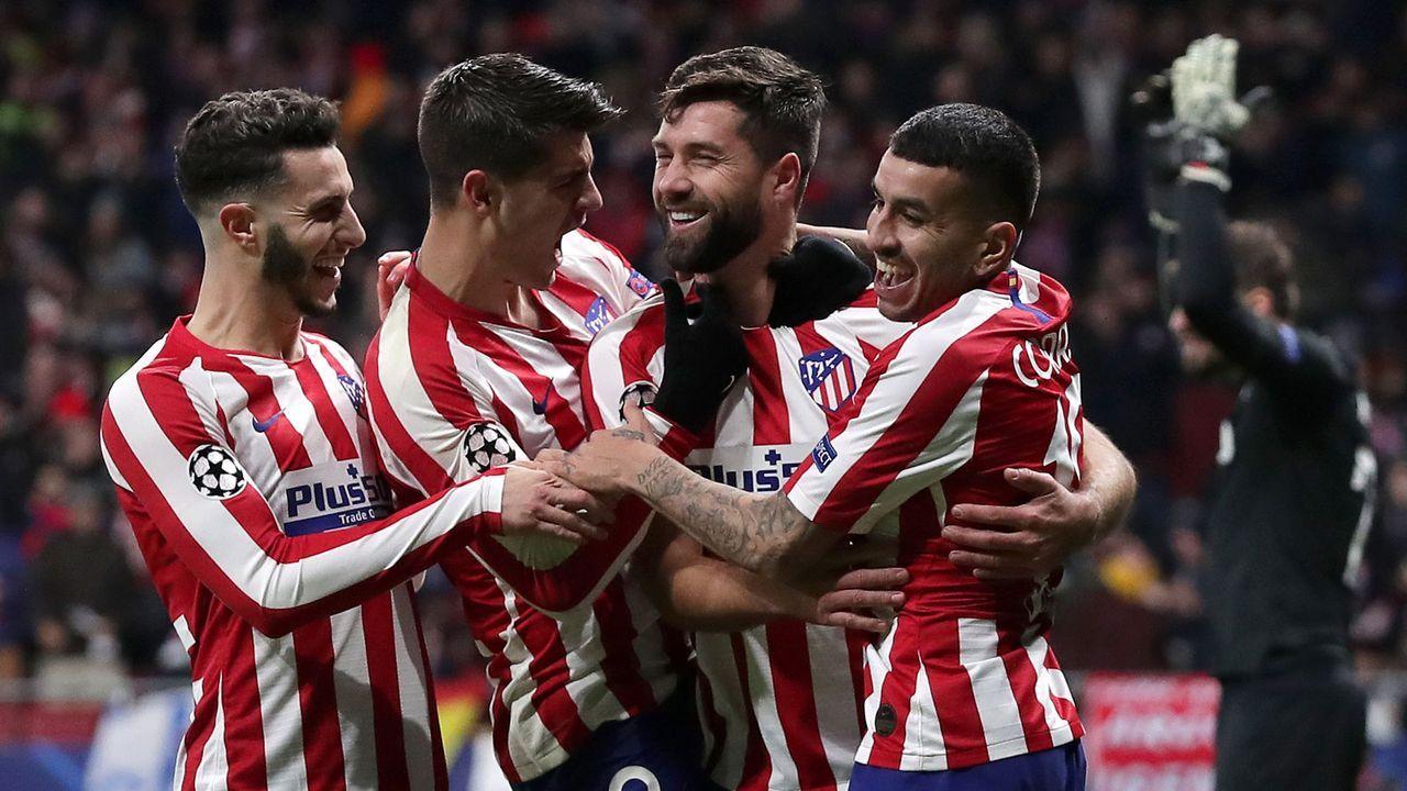 Platz 4: Atletico Madrid  - Bildquelle: 2019 Getty Images