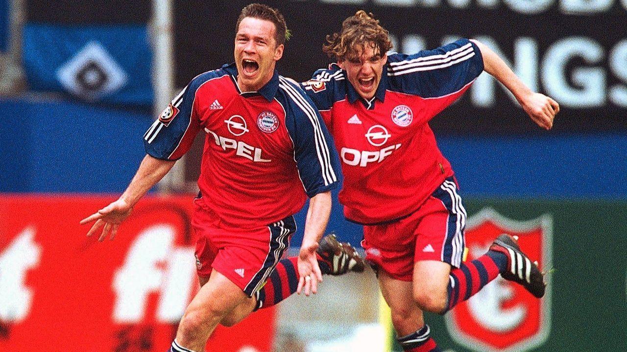 Patrik Andersson (FC Bayern München) - Bildquelle: Bongarts