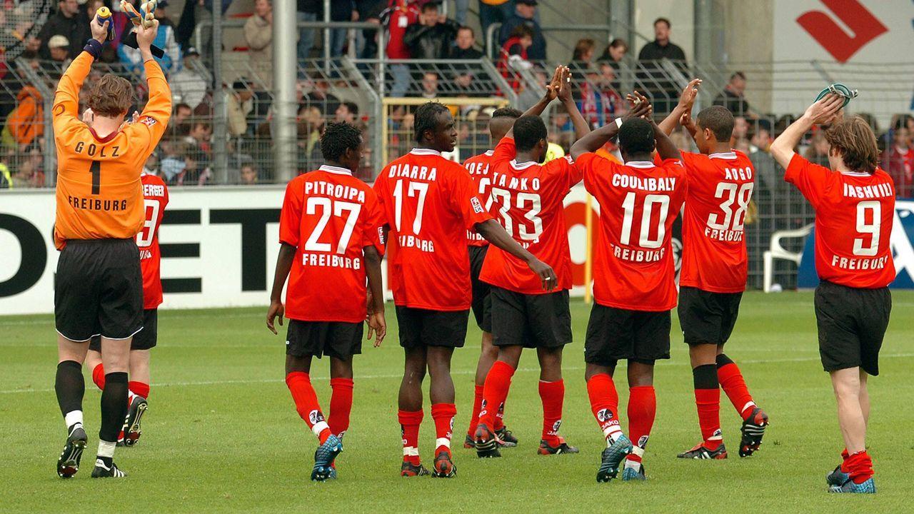 Platz 4 - SC Freiburg (2004/05, 18 Punkte, 30:75 Tore) - Bildquelle: Bongarts