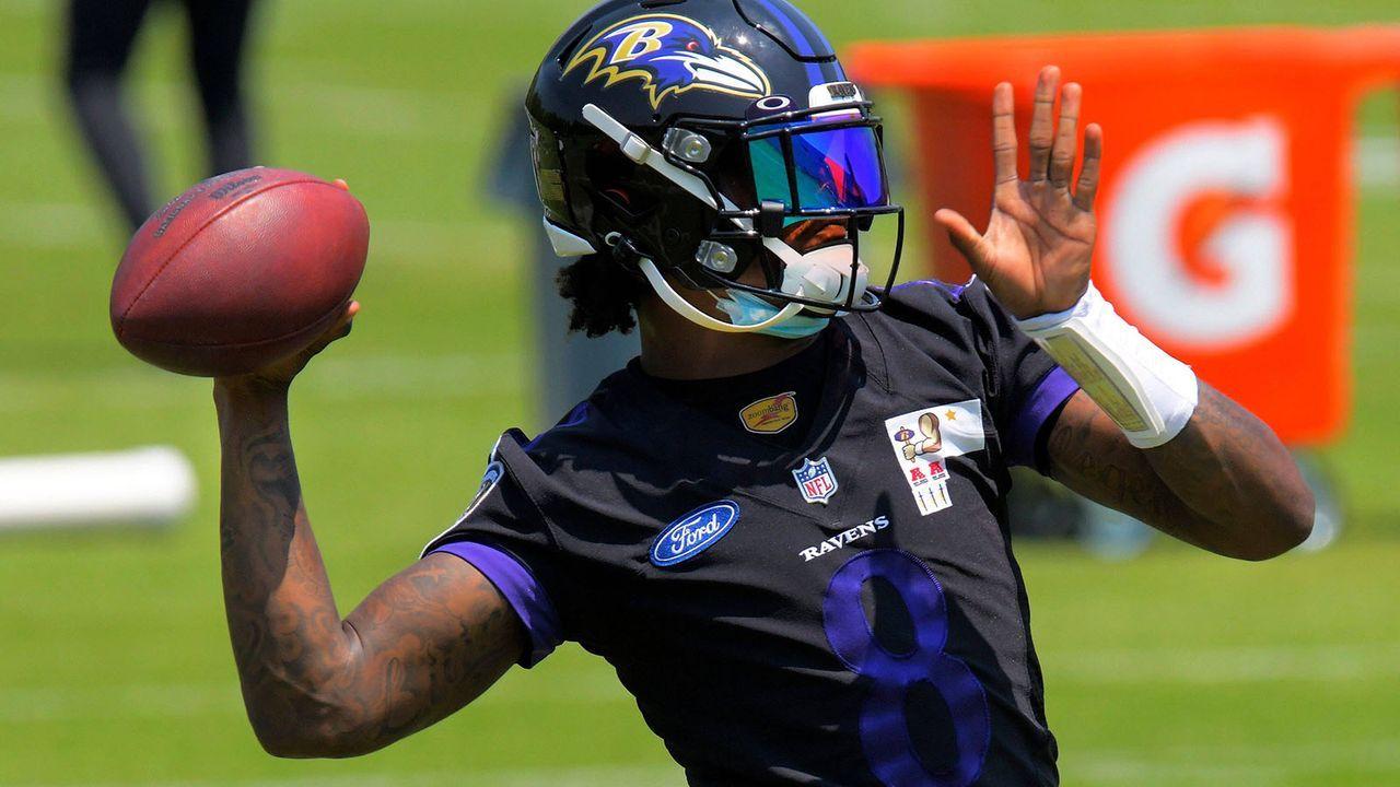 Platz 8: Lamar Jackson (Baltimore Ravens) - Bildquelle: imago images/ZUMA Wire