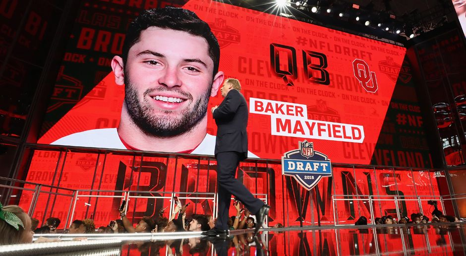 1. Pick - Cleveland Browns: QB Baker Mayfield - Bildquelle: getty