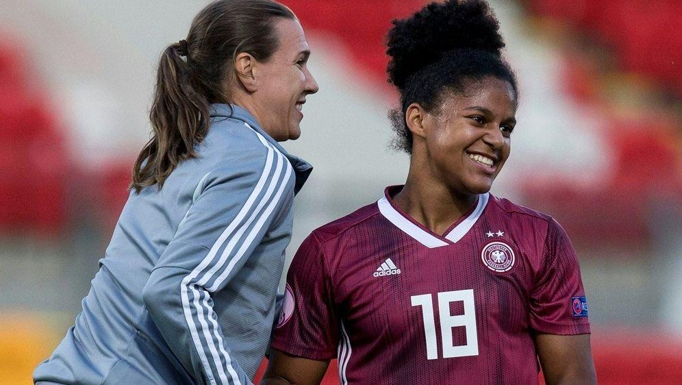 Die deutschen U19-Juniorinnen errreichen das Finale - Bildquelle: PIXATHLONPIXATHLONSID