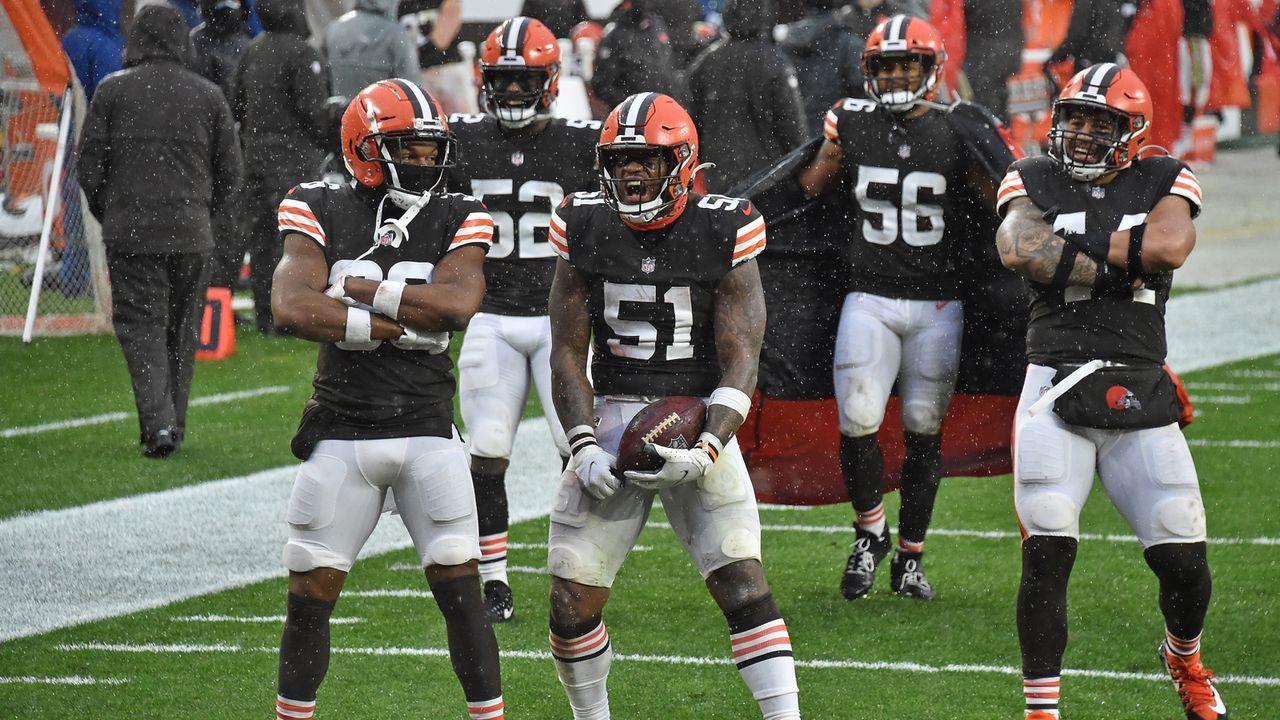 Defense: Cleveland Browns - 22 Punkte - Bildquelle: 2020 Getty Images