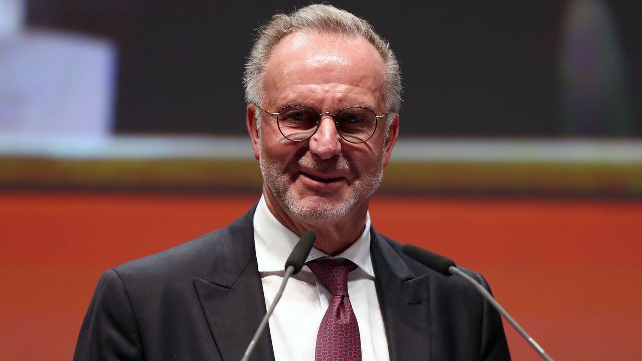 Karl-Heinz Rummenigge (FC Bayern München, Vorstandsvorsitzender) - Bildquelle: 2019 Getty Images