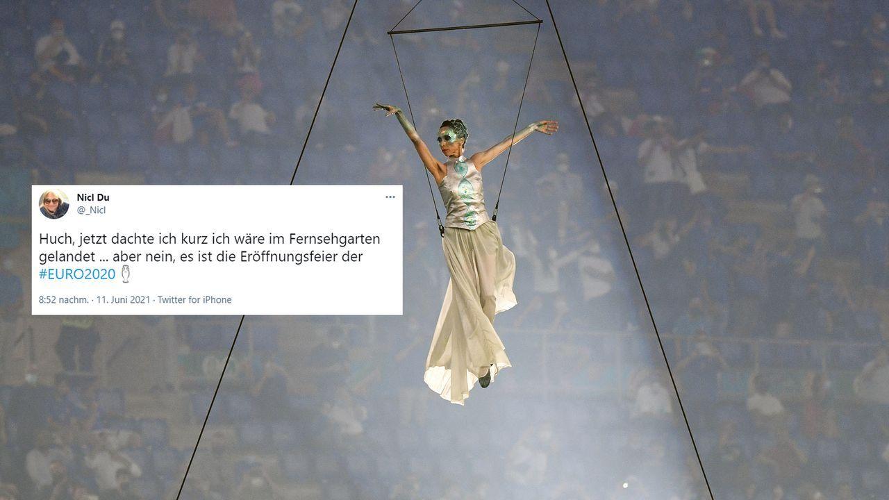 Netzreaktionen zur EM-Eröffnungsfeier - Bildquelle: Getty Images/twitter@_Nicl