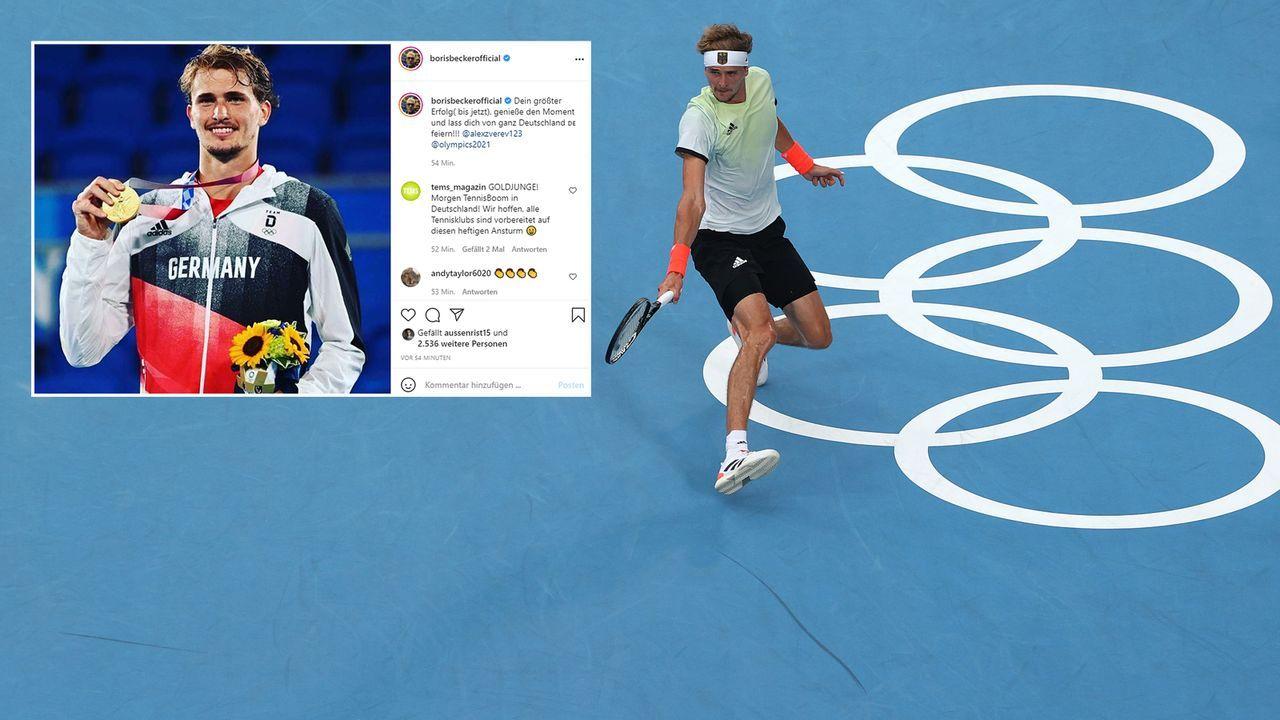 Boris Becker - Bildquelle: Getty Images/instagram@borisbeckerofficial