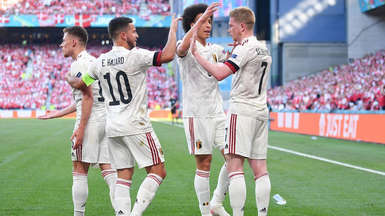 Gruppe B: Belgien (Gruppensieger, 9 Punkte/7:1 Tore) - Bildquelle: 2021 Getty Images